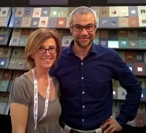 con Marco Malvaldi Torino 2015